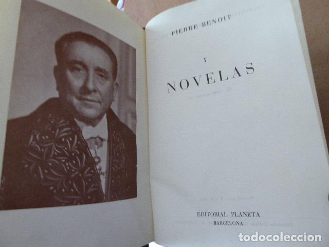 Libros de segunda mano: NOVELAS. PIERRE BENOIT. ED. PLANETA, 1958. 4 TOMOS. - Foto 2 - 124260331