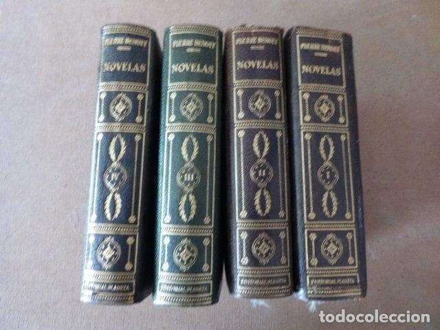 Libros de segunda mano: NOVELAS. PIERRE BENOIT. ED. PLANETA, 1958. 4 TOMOS. - Foto 3 - 124260331
