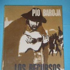Libros de segunda mano: PIO BAROJA - LOS RECURSOS DE LA ASTUCIA - EDITORIAL PLANETA, 1967 (TAPA DURA, EN MUY BUEN ESTADO). Lote 124262131