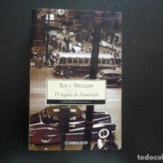Libros de segunda mano: SAUL BELLOW. EL LEGADO DE HUMBOLDT. DEBOLSILLO. Lote 124412191