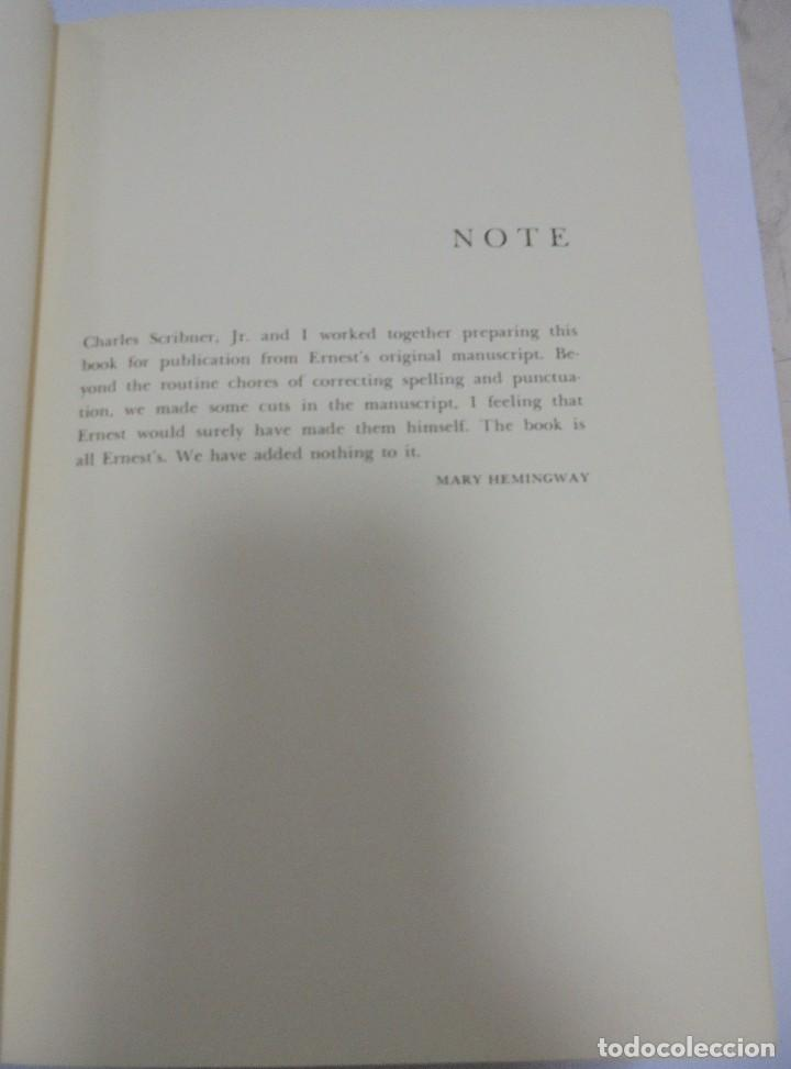 Libros de segunda mano: ISLANDS IN THE STREAM. ERNEST HEMINGWAY. . CON SOBRECUBIERTA. CHARLES SCRIBNER`S. SONS. 1970. - Foto 4 - 124491843