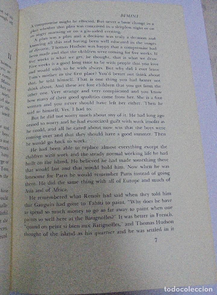Libros de segunda mano: ISLANDS IN THE STREAM. ERNEST HEMINGWAY. . CON SOBRECUBIERTA. CHARLES SCRIBNER`S. SONS. 1970. - Foto 5 - 124491843