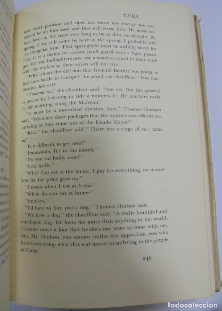 Libros de segunda mano: ISLANDS IN THE STREAM. ERNEST HEMINGWAY. . CON SOBRECUBIERTA. CHARLES SCRIBNER`S. SONS. 1970. - Foto 6 - 124491843