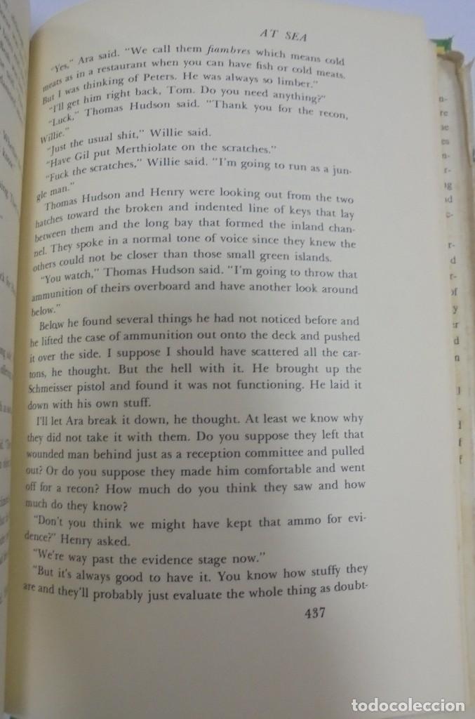Libros de segunda mano: ISLANDS IN THE STREAM. ERNEST HEMINGWAY. . CON SOBRECUBIERTA. CHARLES SCRIBNER`S. SONS. 1970. - Foto 7 - 124491843