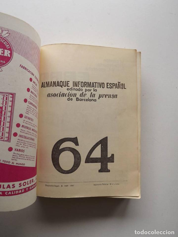 Libros de segunda mano: 1964, Almanaque Informativo Español - Foto 2 - 124587879