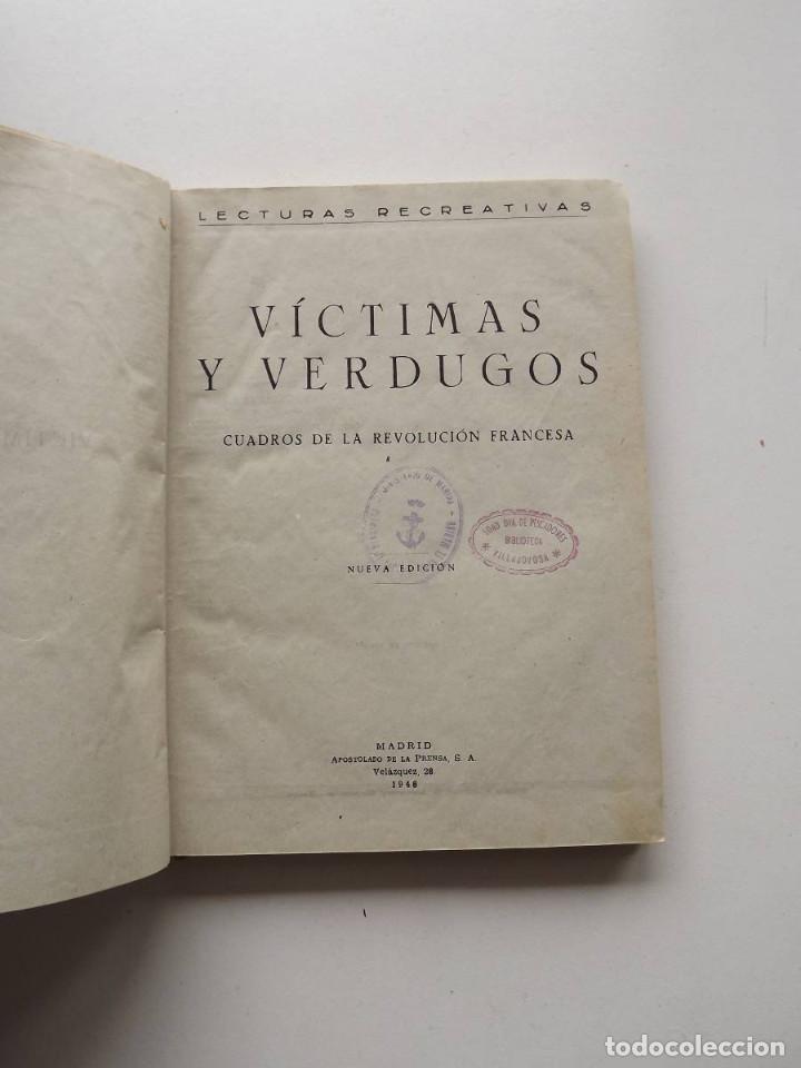 Libros de segunda mano: 1948, Víctimas y Verdugos - Foto 2 - 124701147