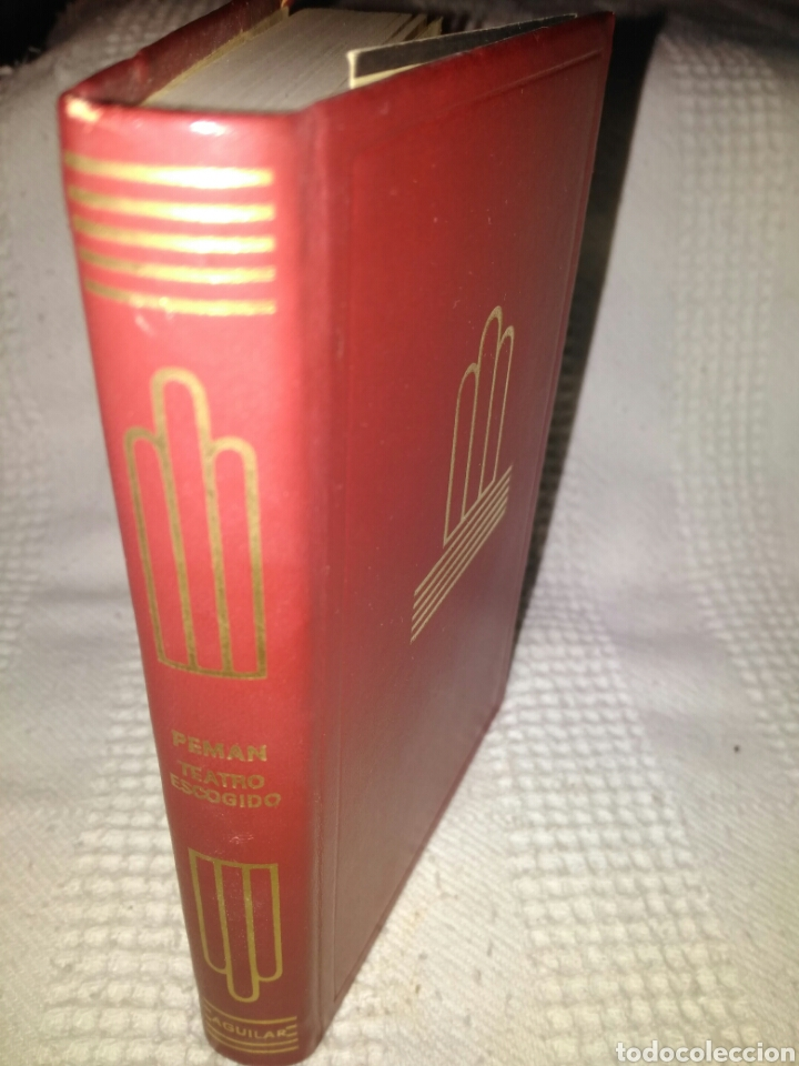 AGUILAR. PEMÁN, TEATRO ESCOGIDO, COLECCIÓN CRISOL (Libros de Segunda Mano (posteriores a 1936) - Literatura - Narrativa - Otros)