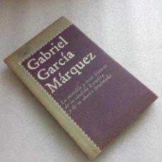 Libros de segunda mano: GABRIEL GARCIA MARQUEZ. LA INCREIBLE Y TRISTE HISTORIA DE LA CANDIDA ERENDIRA Y DE SU ABUELA DESALMA. Lote 125076923