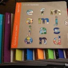 Libros de segunda mano: LITERATURA INFANTIL COLECCION GARABATO 12 TOMOS + GUIA PADRES SIGNO INFANTIL CUENTOS INGLES CANCIONE. Lote 125250431