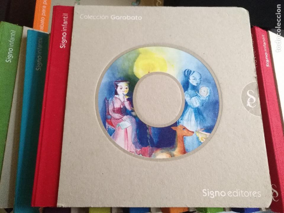Libros de segunda mano: LITERATURA INFANTIL COLECCION GARABATO 12 TOMOS + GUIA PADRES SIGNO INFANTIL CUENTOS INGLES CANCIONE - Foto 6 - 125250431