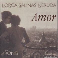 Libros de segunda mano: WILLY ROINS - AMOR - ED. DEBOLSILLO 2007. Lote 125302599