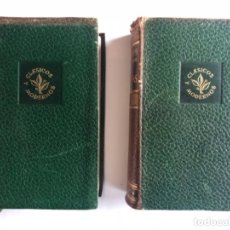 Libros de segunda mano: STEFAN ZWEIG, OBRAS COMPLETAS. I NOVELAS Y II BIOGRAFÍAS. ED. JUVENTUD, 1952 (1ªEDICIÓN). 2 TOMOS.. Lote 217346721