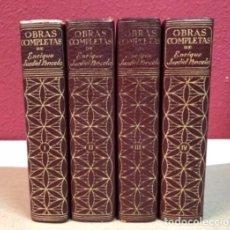 Libros de segunda mano - ENRIQUE JARDIEL PONCELA - OBRAS COMPLETAS 4 TOMOS - EDITORIAL AHR 6ª ED. - - 125725679