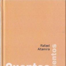 Libros de segunda mano: RAFAEL ALTAMIRA : CUENTOS DE LEVANTE. Y OTROS CUENTOS. (THULE EDS, 2003). Lote 125906675