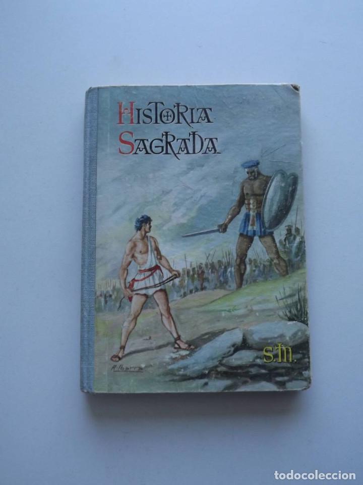 1965, HISTORIA SAGRADA, EDICIONES SM, 4º GRADO (Libros de Segunda Mano (posteriores a 1936) - Literatura - Narrativa - Otros)