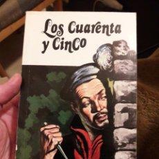 Libros de segunda mano: LOS CUARENTA Y CINCO. POR JULIO VERNE. ED SOPENA 1978. Lote 125973790