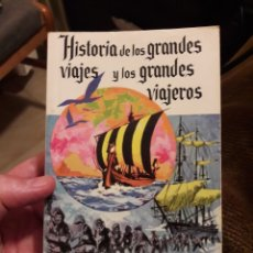 Libros de segunda mano: HISTORIA DE LOS GRANDES VIAJES Y LOS GRANDES VIAJEROS. POR JULIO VERNE. ED SOPENA 1975. Lote 125973866