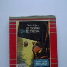 Libros de segunda mano: 1956, LOS PESCADORES DE TREPANG, EMILIO SALGARI, COLECCIÓN MOLINO. Lote 125987763