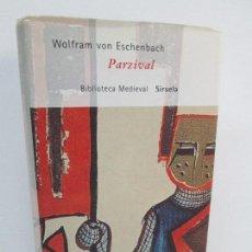 Libros de segunda mano: WOLFRAM VON ESCHENBACH. PARZIVAL. BIBLIOTECA MEDIEVAL EDITORIAL SIRUELA 2005. VER FOTOS. Lote 126142199