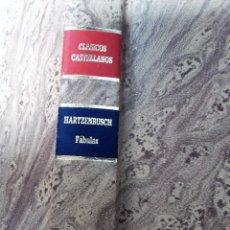Libros de segunda mano: FABULAS * JUAN EUGENIO HARTZENBUSCH. Lote 126178219