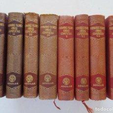 Libros de segunda mano: WENCESLAO FERNÁNDEZ FLOREZ OBRAS COMPLETAS. OCHO TOMOS. RM86936. Lote 126286371