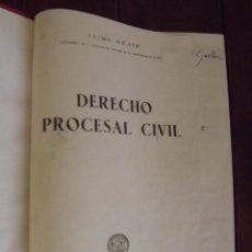 Libros de segunda mano: 1956, DERECHO PROCESAL CIVIL, JAIME GUASP. Lote 126300411