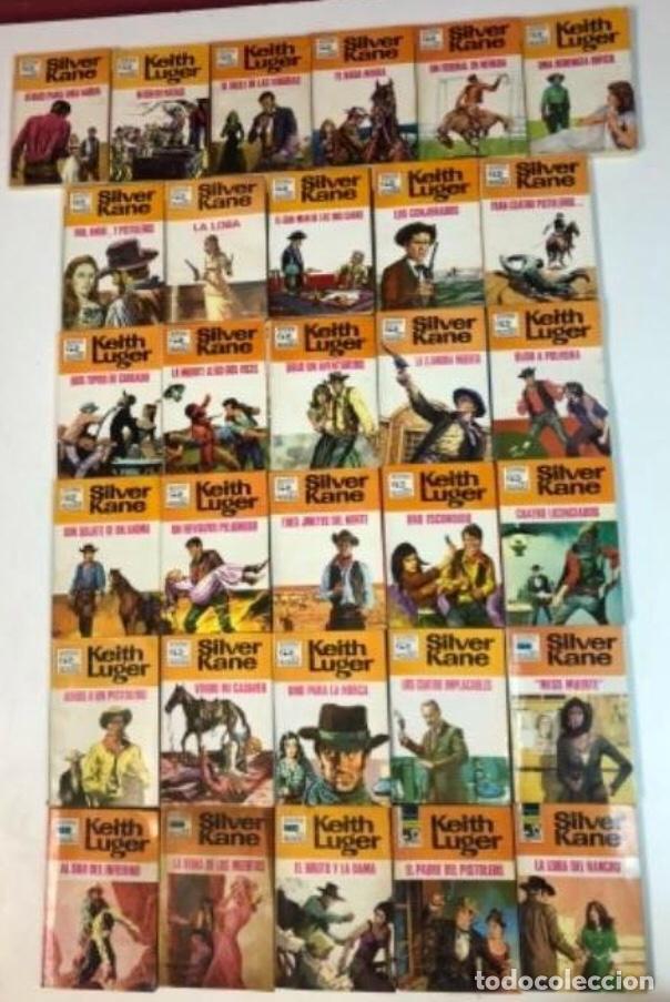 Libros de segunda mano: 31 EJEMPLARES DE LA COLECCIÓN LOS HÉROES DE LA PRADERA (BOLSILIBROS BRUGUERA 1970-1971). - Foto 2 - 126304287
