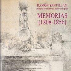 Libros de segunda mano: RAMON SANTILLAN - MEMORIAS - ED. TECNOS 1996. Lote 126465111