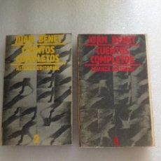 Libros de segunda mano: JUAN BENET CUENTOS COMPLETOS. TOMO 1 Y 2. ALIANZA ED. Lote 126529639