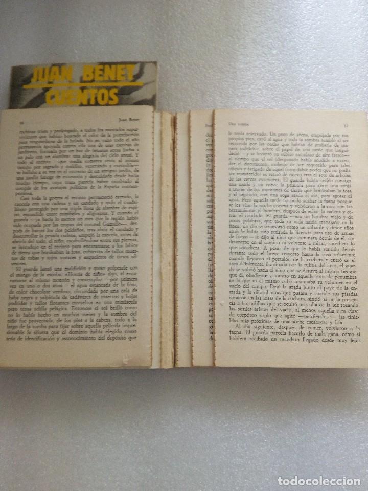 Libros de segunda mano: JUAN BENET CUENTOS COMPLETOS. TOMO 1 y 2. ALIANZA ED - Foto 2 - 126529639