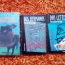 Libros de segunda mano: LOTE 3 LIBROS - BERNARDO ATXAGA - MEMORIAS DE UNA VACA - DOS HERMANOS - DOS LETTERS. Lote 126715935