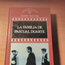 Libros de segunda mano: LA FAMILIA DE PASCUAL DUARTE CAMILO JOSÉ CELA. Lote 126869375
