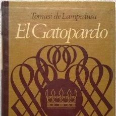 Libros de segunda mano: EL GATOPARDO, TOMASI DI LAMPEDUSA. Lote 127084819