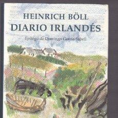 Libros de segunda mano: HEINRICH BÖLL - DIARIO IRLANDÉS - CIRCULO LECTORES 1998. Lote 127218183