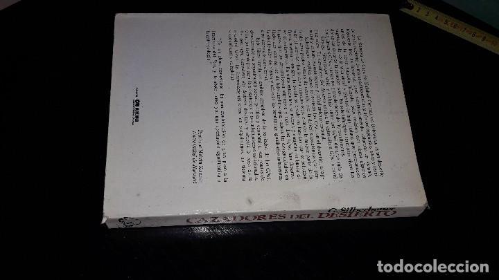 Libros de segunda mano: CAZADORES DEL DESIERTO....G. SILBERBAUER.. 1983... - Foto 9 - 127438727