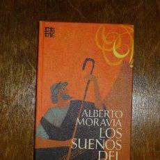Libros de segunda mano: MORAVIA, ALBERTO. LOS SUEÑOS DEL HARAGÁN (ROTATIVA) . Lote 127451231