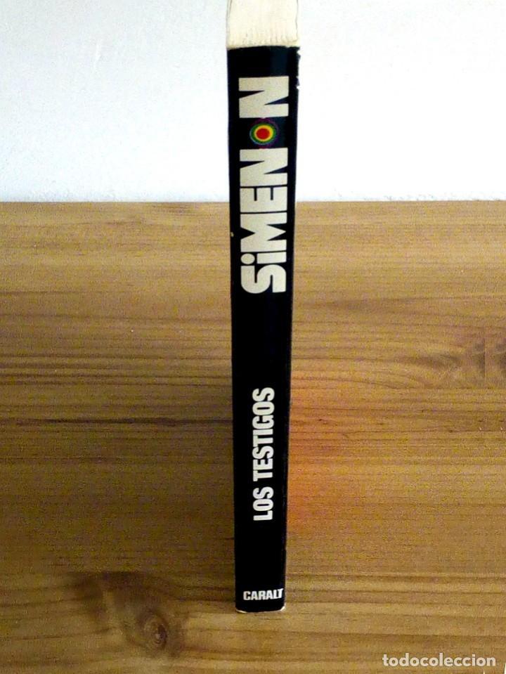 Libros de segunda mano: LOS TESTIGOS. SIMENON, GEORGES. CARALT. 1 ª ED 1965 - Foto 6 - 127467371