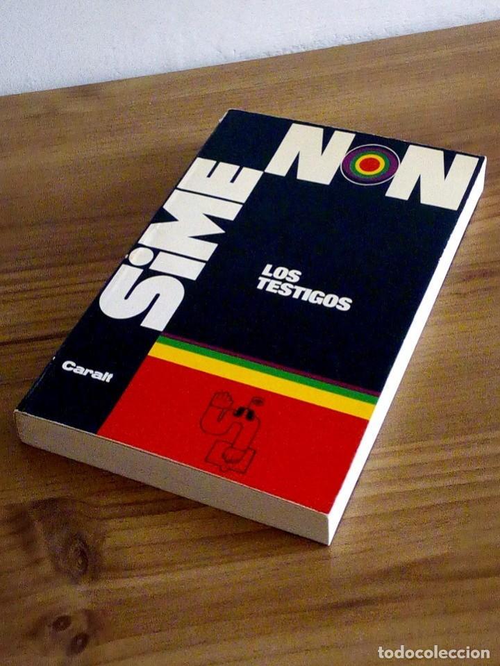 Libros de segunda mano: LOS TESTIGOS. SIMENON, GEORGES. CARALT. 1 ª ED 1965 - Foto 8 - 127467371