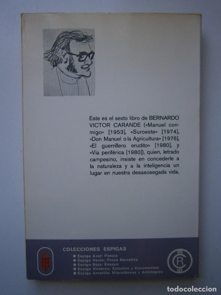 Libros de segunda mano: VIAJE Y ESTANCIA ANDALUZA Bernardo Victor Carande Caja Rural de Sevilla 1981 Coleccion Espiga Roja - Foto 4 - 127494067