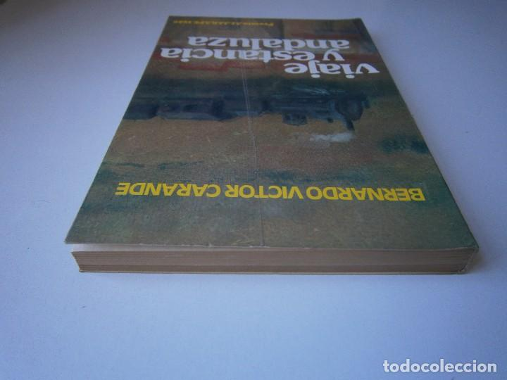 Libros de segunda mano: VIAJE Y ESTANCIA ANDALUZA Bernardo Victor Carande Caja Rural de Sevilla 1981 Coleccion Espiga Roja - Foto 7 - 127494067