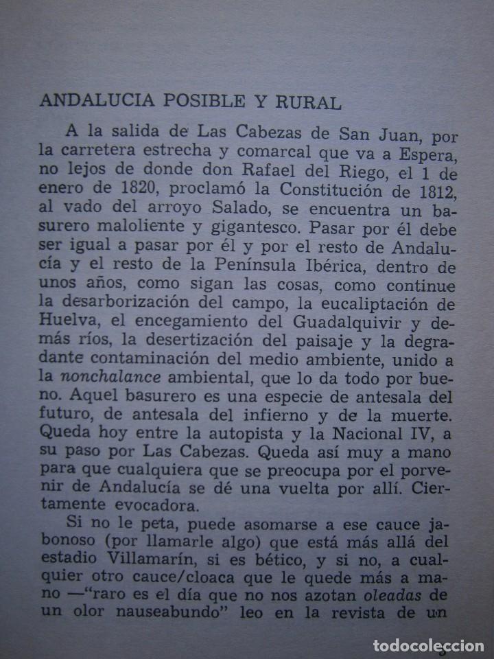 Libros de segunda mano: VIAJE Y ESTANCIA ANDALUZA Bernardo Victor Carande Caja Rural de Sevilla 1981 Coleccion Espiga Roja - Foto 10 - 127494067