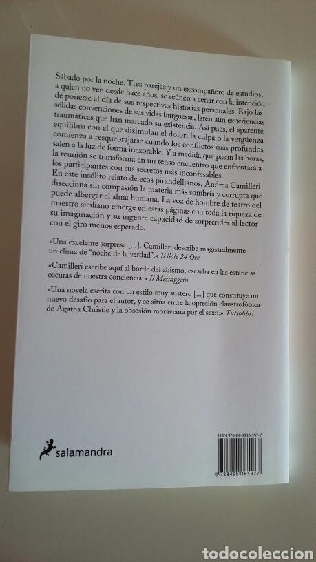 Libros de segunda mano: Un sábado con amigos. Andrea Camilleri. 2014. - Foto 2 - 127513448