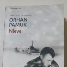 Libros de segunda mano: NIEVE. ORHAN PAMUK. 2011. Lote 127530484