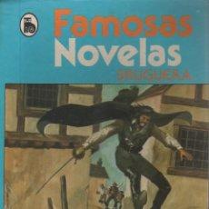 Libros de segunda mano: FAMOSAS NOVELAS BRUGUERA NUEVAS AVENTURAS DE DICK TURPIN 320 PÁGINAS AÑO 1983 FN104. Lote 127795719