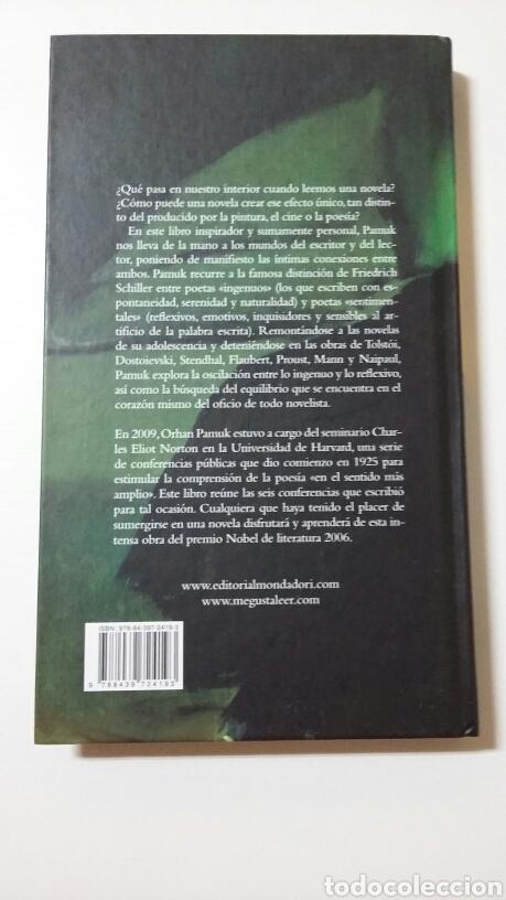 Libros de segunda mano: El novelista ingenuo y el sentimental. Orhan Pamuk. 2011 - Foto 2 - 127886379