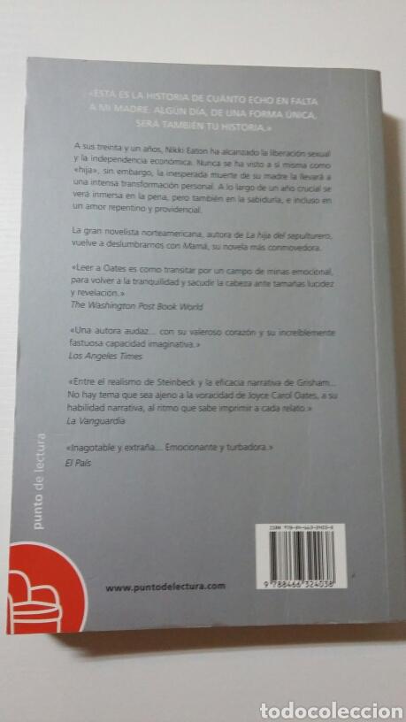 Libros de segunda mano: Mamá. Joyce Carol Oates. 2010 - Foto 2 - 127886870