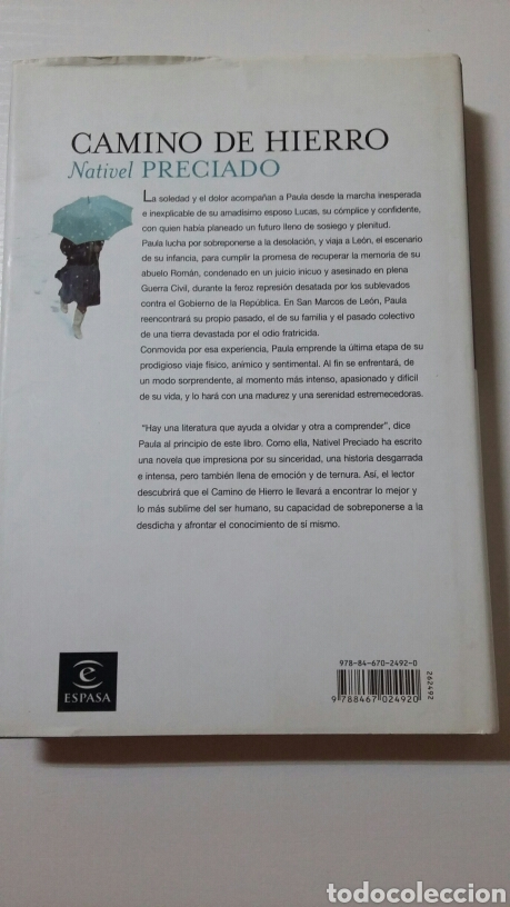 Libros de segunda mano: Camino de hierro. Nativel Preciado. 2007 - Foto 2 - 127887216