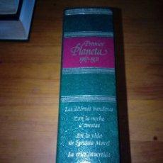 Livros em segunda mão: PREMIOS PLANETA 1967 1970. LAS ÚLTIMAS BANDERAS. CON LA NOCHE A CUESTA. ... EST23B4. Lote 127958919