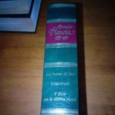 Livros em segunda mão: PREMIOS PLANETA 1979 1981. LOS MARES DEL SUR. VOLAVÉRUNI. Y DIOS EN LA ÚLTIMA PLAYA. EST24B5. Lote 127959283