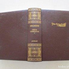 Libros de segunda mano: CHARLES DICKENS OBRAS COMPLETAS. TOMO I. RMT87073. Lote 128306835